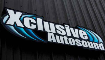 Xclusive Autosound Sign