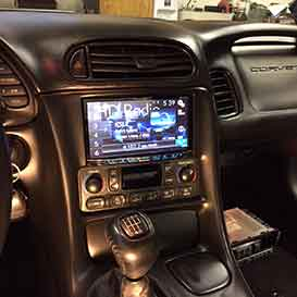 Double-din-conversion