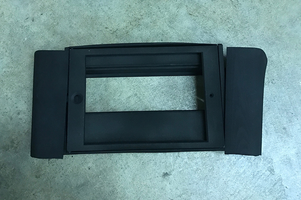 smart car 3-D printed ipad mount